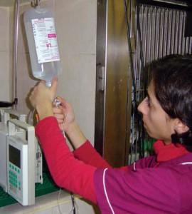 Las soluciones de mantenimiento se usan para mantener el equilibrio hídrico en los pacientes capaces de controlar su grado de hidratación.