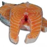Los omega 3 están en el pescado.