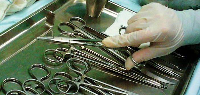 Cuidado y mantenimiento del instrumental quirúrgico