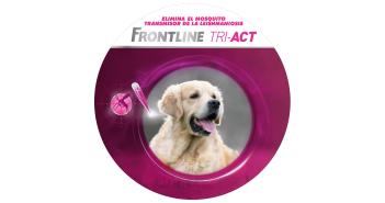 Frontline Tri-Act campaña televisión 2016