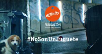 Fundación Affinity alerta que perros y gatos #NoSonUnJuguete