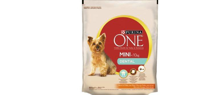 Purina One Mini Dental para combatir bacterias, placa y sarro