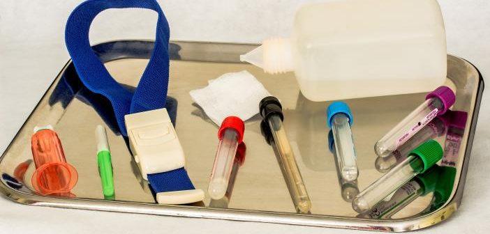 Procesado de la muestra de sangre