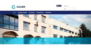 Calier lanza su nueva web
