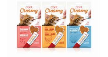 Snacks cremosos para gatos Catit Creamy