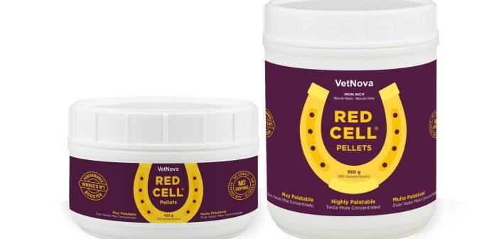 VetNova presenta la fórmula doblemente concentrada y granulada de Red Cell