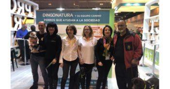 El equipo canino de Dingonatura