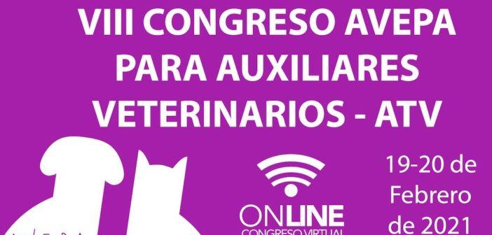 VIII Congreso AVEPA para Auxiliares Técnicos Veterinarios 2021 <em>online</em>