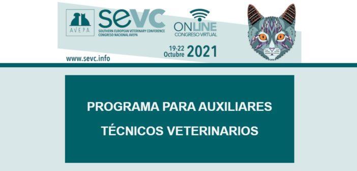 Ya puedes consultar el programa para ATV del Congreso AVEPA-SEVC 2021